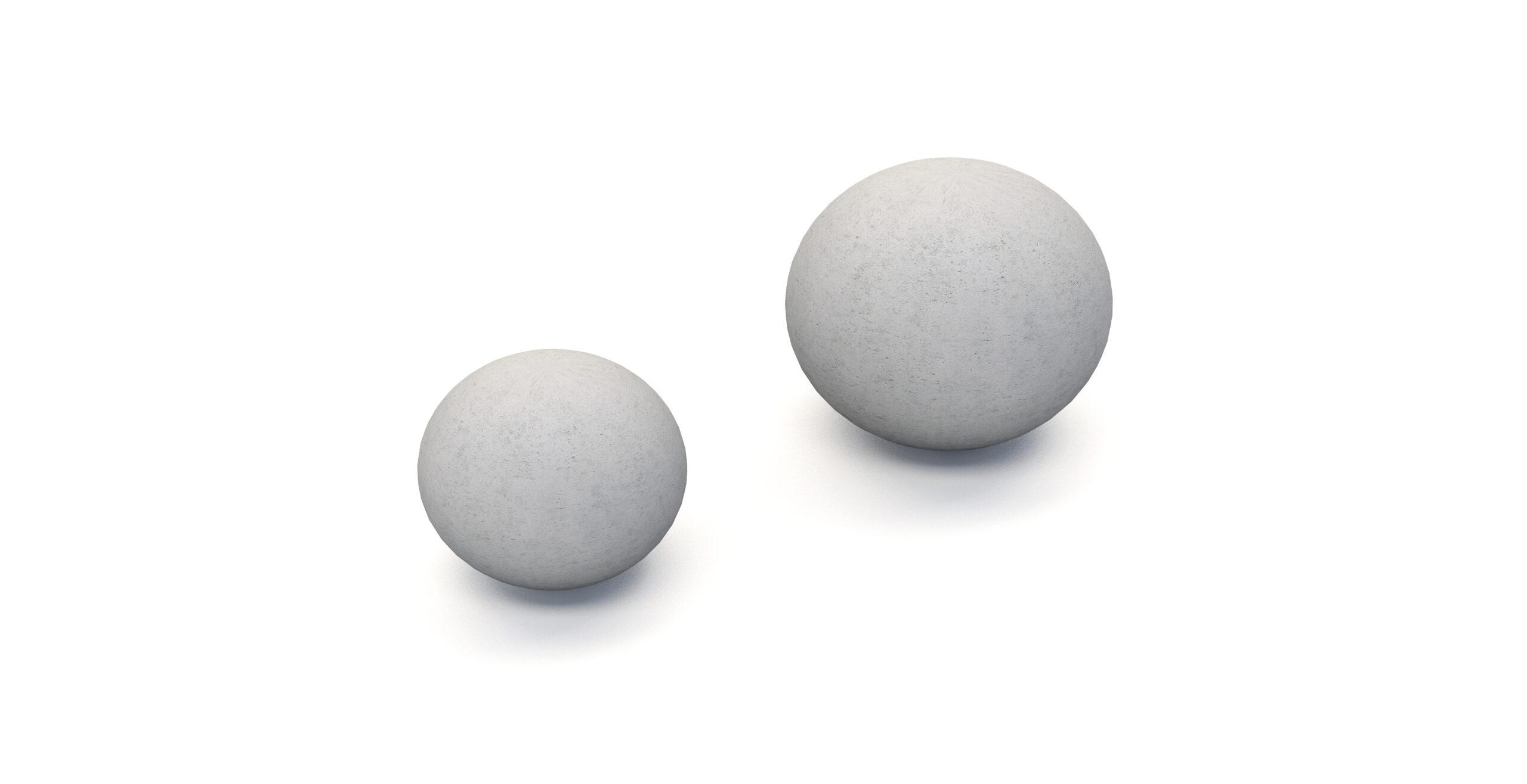Bolardos Esferas