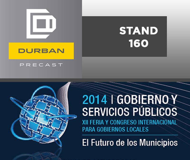 DURBAN – STAND 160 – GOBIERNO Y SERVICIOS PUBLICOS EDICION XII